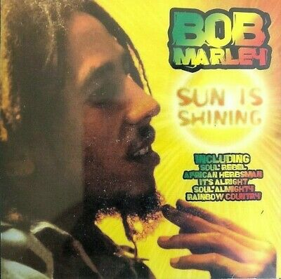 NEW SEALED - BOB MARLEY - SUN IS SHINING - Reggae Pop Ska Music CD Album