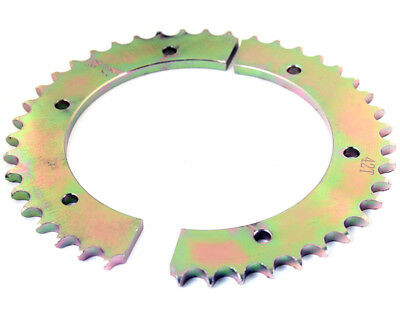 Kart 44T 428 Pitch Split Rear Sprocket Steel Sprocket