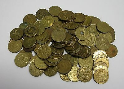 Lot of 100 Circulated, Usable Chuck E. Cheese Tokens