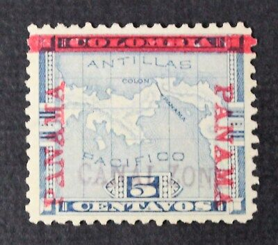 CKStamps: US Canal Zone Stamps Collection Scott#2 Unused NG Signed Corner Crease