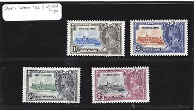 Lot of 11 Sierra Leone MH Mint Hinged Stamps #109055 X R