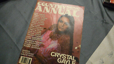 Crystal Gayle Covers Country Song Roundup Magazine Fall 1978 Annual