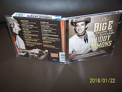 CD The Big E: A Salute To Steel Guitarist Buddy Emmons