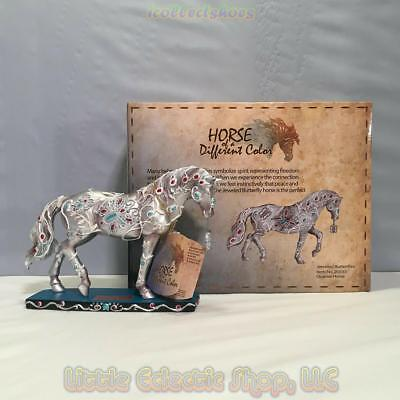 20333 JEWELED BUTTERFLIES #1171 Resin QH Horse of a Different Color Figurine