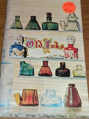 Vintage OLD INKS Bottle Collector Book PB  1967