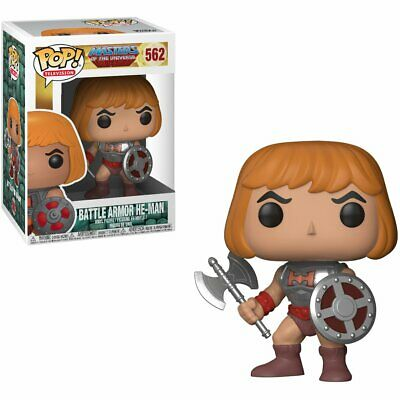 Funko Pop Television Masters Of The Universe Battle Armor He-Man Vinyl Action Fi