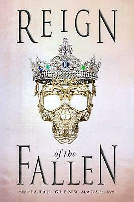 Reign of the Fallen by Sarah Glenn Marsh Hardcover Book Free Shipping!