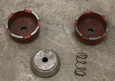 4-Piece Truck Adapter Set for Brake Lathe RELS Van Norman FMC Aamco Ammco