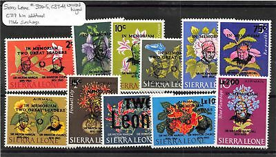 Lot of 24 Sierra Leone MH Mint Hinged Stamps #114240 X
