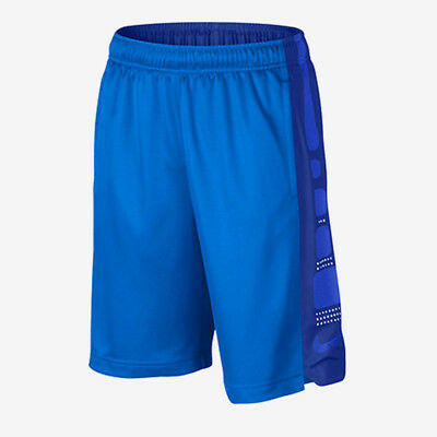 Nike Elite Basketball Youth Shorts Xl 18-20+ Brand New Blue Stripe Kobe Boys Lrg