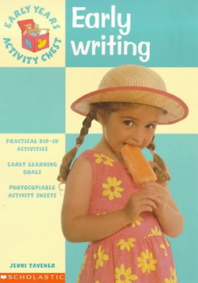 Early Writing (Early Years Activity Chest), Tavener, Jenni, Good Condition Book,