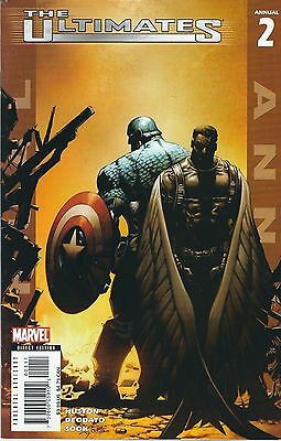 The Ultimates Annual #2 (2006) Mike Deodato Marvel Comics V/f+