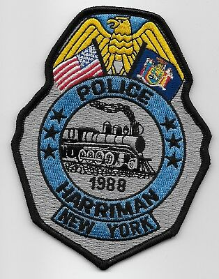 Train Meriman POlice State New York Ny Shoulder patch NEAT