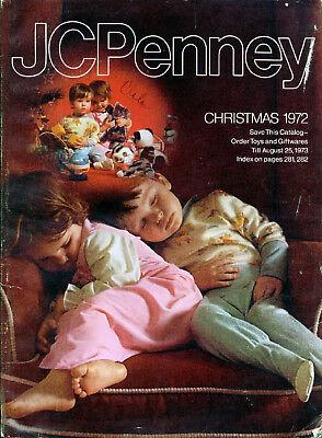 1972 JC PENNEY CHRISTMAS CATALOG WISHBOOK GREAT 70s -  PENNEYS