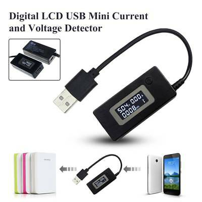 Mini LCD USB Charger Mobile Power Detector Battery Tester Voltage Current Meter