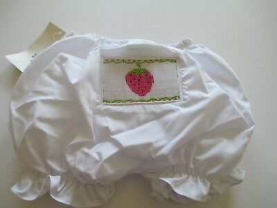 Adorable Baby Bloomers Diaper Cover Panties Embroidered Strawberry Free Shipping