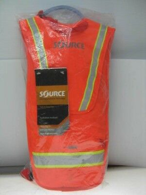 Source i-Vis Firefly 2L Hydration Pack - Neon Orange - High Visibility - NEW!