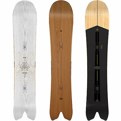 Flow Darwin Freeride Snowboards Swallowtail Special Shape Men's 2015-2017 NEW