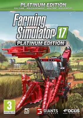 Farming Simulator 2017 Platinum Edition PC - totalmente in italiano