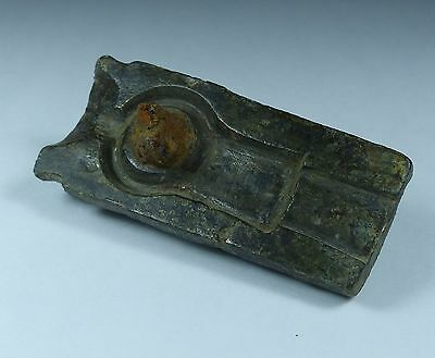 Ancient Roman Brooch Bronze Mould 2Nd/3Rd Century Ad.. Superb Academic Piece