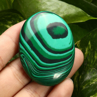 Palm Tumbled Stones Malachite Quartz Crystal Healing Soap Shape Massage Gemstone