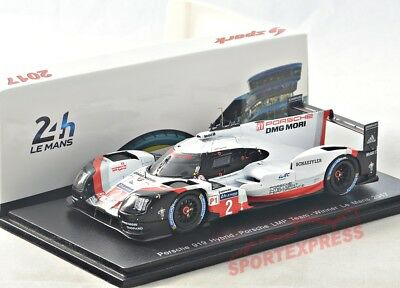 NEW 1/43 Spark 43LM17 Porsche 919 Hybrid, winner 24hrs LeMans 2017, #2