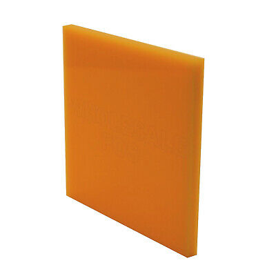 Yellow 229 Colour Perspex 3mm Thick Acrylic Sheet Custom Cut to Size Panels