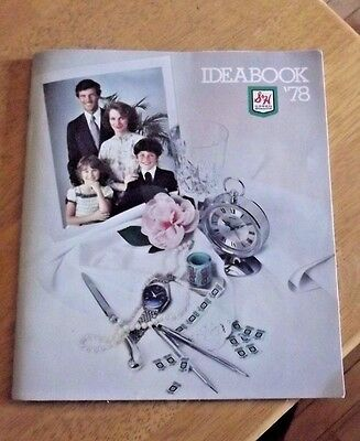 S&H green stamps  VINTAGE-- **IDEABOOK** catalog 1978 Sperry Hutchinson