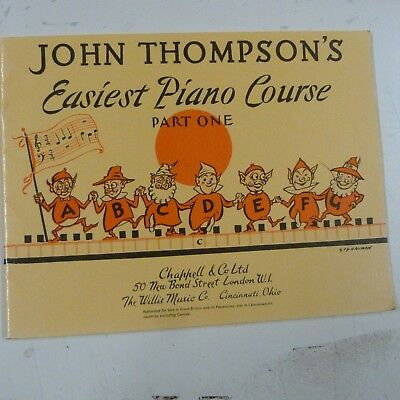 piano JOHN THOMPSON's Easiest Piano Course , Part One