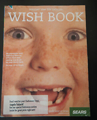 1999 SEARS Wish Book Christmas TOY Catalog - Excellent!!