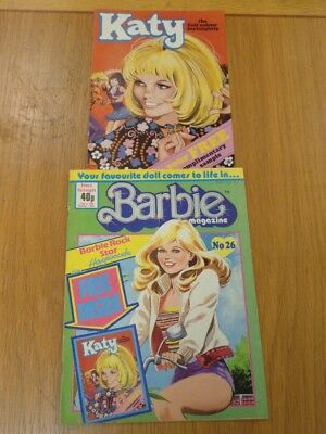 Barbie #26 17Th-30Th October 1986 With Free Gift Ipc British Weekly^