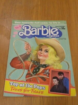 Barbie #9 21St February - 6Th March 1986 Ipc British Weekly^