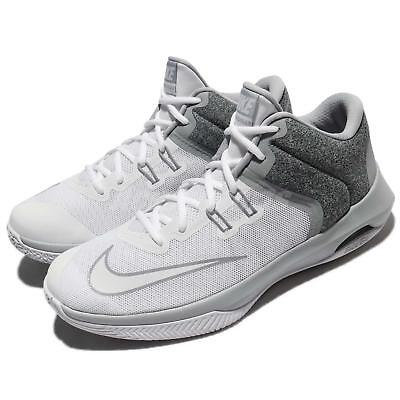 buy online ff9f2 741db Nike Air Versitile II 2 White Wolf Grey Men Basketball Shoes Sneakers 921692 -101