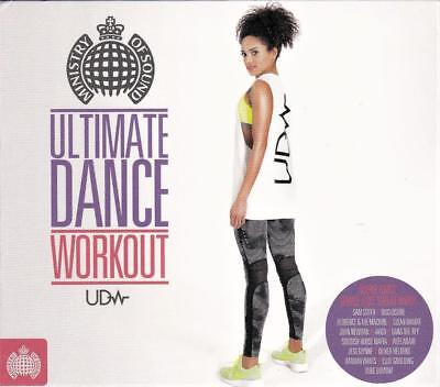 Ultimate Dance Workout - Ministry Of Sound  - Various Artists (New Sealed 3Cd )