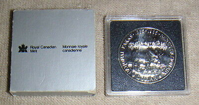 1885-1995 Canada National Parks Commemorative 1 Dollar Silver Coin Queen Moose