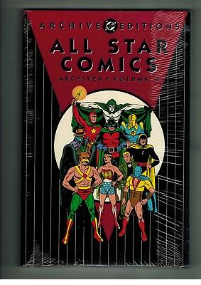 ALL STAR COMICS Volume 2 DC Archive Editions Hardcover Sealed Issues 7-10