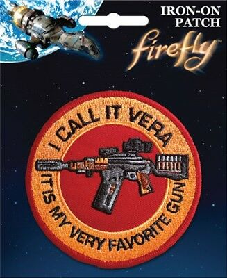 Firefly TV Series I call It Vera Jane's Rifle Logo Embroidered Patch NEW UNUSED
