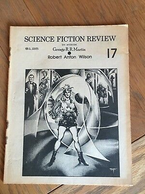 Science Fiction Review No. 17 - US SF semi-fanzine - George R. R. Martin May '76
