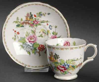 Crown Staffordshire PAGODA Cup & Saucer 95365