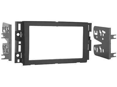 Radio Stereo Aftermarket Installation Car Double Din Dash Trim Kit GM Chevy