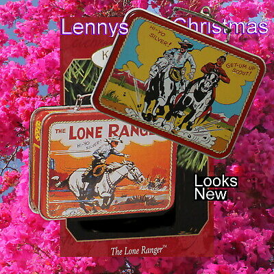 Hallmark Ornament, 1997 The Lone Ranger Lunch Box, New