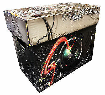 (2) - SPIDERMAN Art Comic Book Storage Box - Venom Holds 125-140 Comics