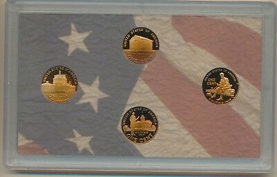 Lincoln Life - 2009-S Gem Proof Lincoln Cent Set (4) In Capsule - #a