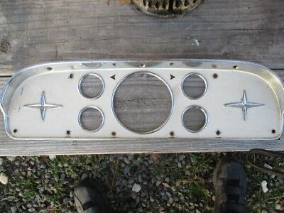 1957 to 1960 Ford truck instrument bezel-plate man cave rat rod hot rod