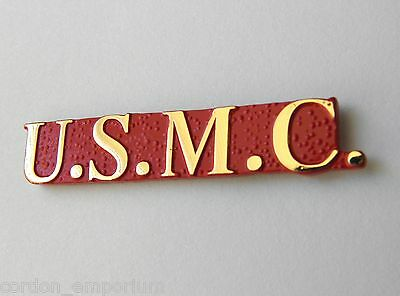 Usmc Marine Corps Us Marines Script Lapel Pin Badge 1.2 Inches