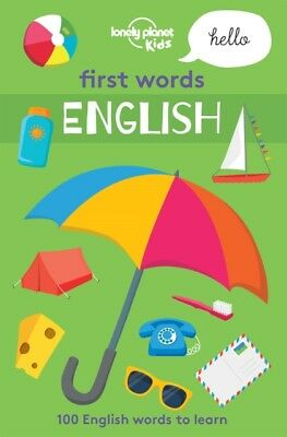 FIRST WORDS ENGLISH, Lonely Planet Kids, 9781786577375