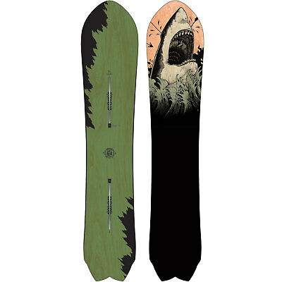 Burton Fish POWDER SNOWBOARD FREERIDE Swallow Tail Men's Cruiser 2017-2018 NEW