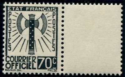 Lot N°4354 France Service N°5 Neuf ** LUXE