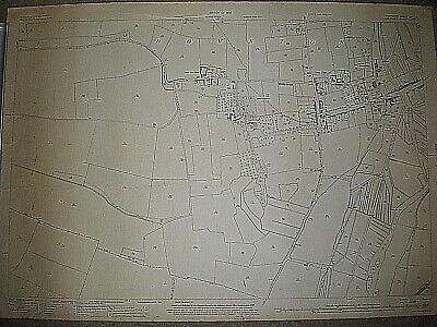 "ORDNANCE SURVEY MAP 1926. DOWNTON nr SALISBURY. 1:2500. APPROX 41"" by 29"""