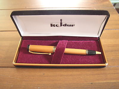 Keldur Hand Turned Irish Yew Wooden  Pen, made in Ireland